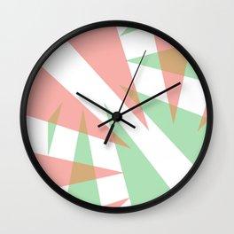 Green&Roze Wall Clock