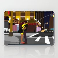 broadway iPad Cases featuring BROADWAY KISS by Alfred Fox Art & Photography