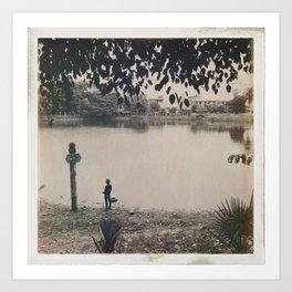 Burmese Memories #3 Art Print