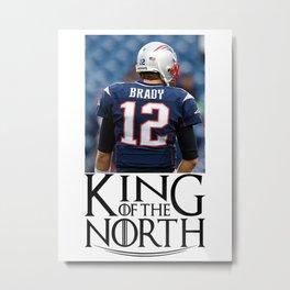 King Brady King Of The North Metal Print