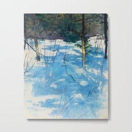 Abbott Handerson Thayer - Winter, Monadnock Metal Print