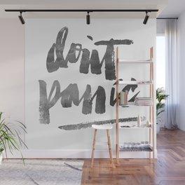 DON'T PANIC Wall Mural