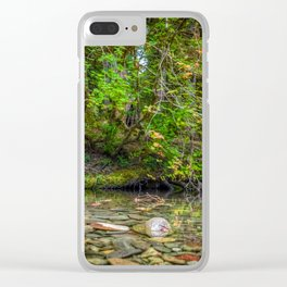 Morning in the Hoh Rain Forest 2 Clear iPhone Case