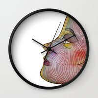 doll Wall Clocks featuring Doll by beerreeme
