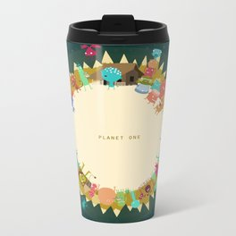 Planet One Metal Travel Mug