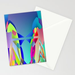 Total hidden pattern Stationery Cards