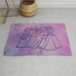 Belly Dance Troupe Rug