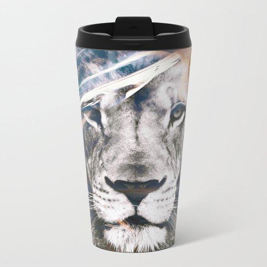 LION 6 Metal Travel Mug