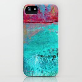 Turquoise Ocean iPhone Case
