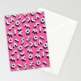 Jumble Pattern Stationery Cards