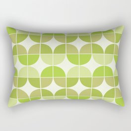 Mid Century Geometric 5 Rectangular Pillow