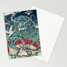 Flying the Agaric Stationery Cards