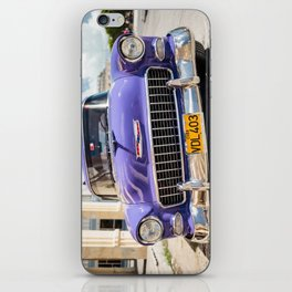 Purple Chevy iPhone Skin