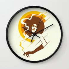Retropolitan (warm) Wall Clock