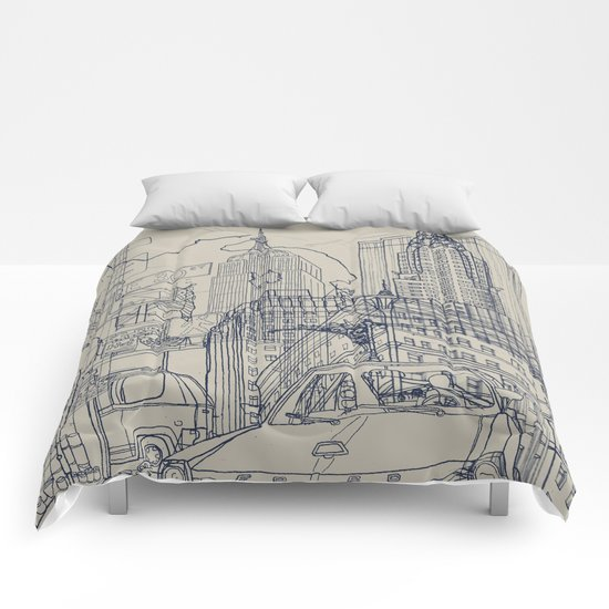 New York! Comforters
