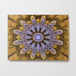 Candys Mandala Art Metal Print