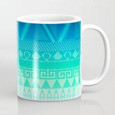 Blue Mayan Mug