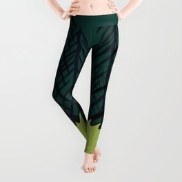 Frog On A Forest Field Leggings