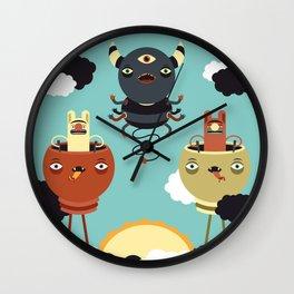Sky Warden Wall Clock