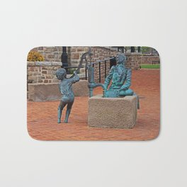 Daily Chores by Michael Tizzano Bath Mat