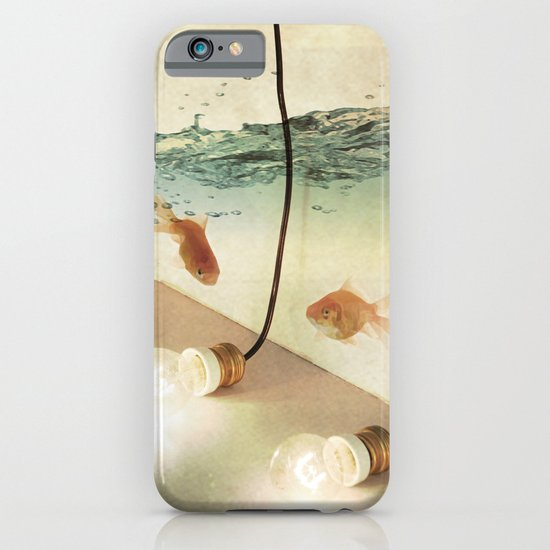 ideas and goldfish iPhone & iPod Case