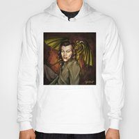 cyrilliart Hoodies featuring Dragon Series: Harry by Cyrilliart