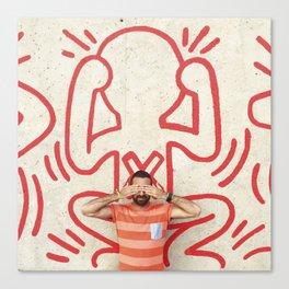Stop AIDS Canvas Print