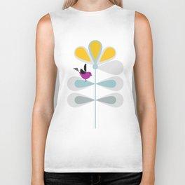 Yellow Flower #society6 #buyArt #decor Biker Tank