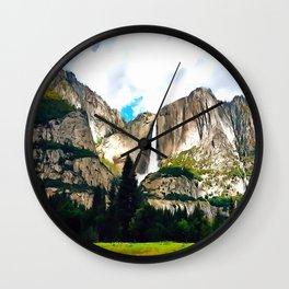 Vernal Mist Wall Clock