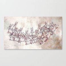 Lepus Leap Canvas Print