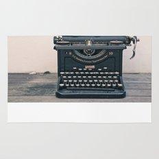 Typewriter Rug