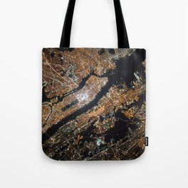 New York City Lights Tote Bag