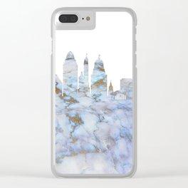 Cincinnati Ohio Skyline Clear iPhone Case