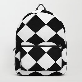 HARLEQUINS (BLACK-WHITE) Backpack