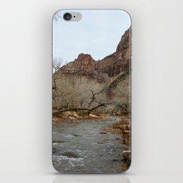 North Fork Virgin River, Zion National Park iPhone Skin