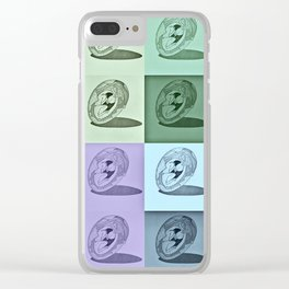 Hatchling Peeper Clear iPhone Case