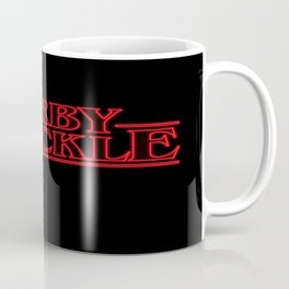 Kirby Krackle - Upside Down Logo Coffee Mug