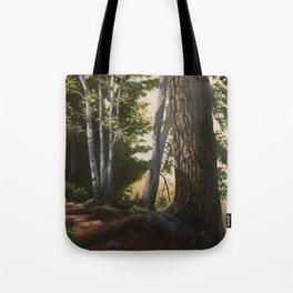 Woodland Light Tote Bag