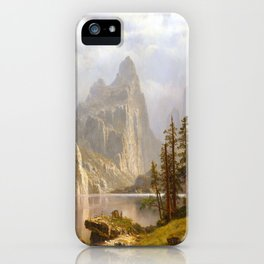 Albert Bierstadt Yosemite Valley iPhone Case
