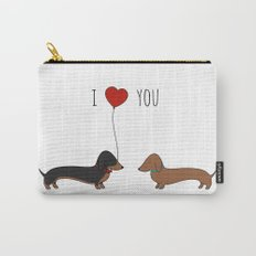 DACHSHUND LOVE Carry-All Pouch