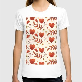 Hearts and Leaves T-shirt