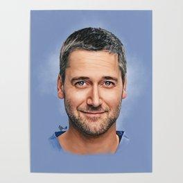 Dr. Max Goodwin // Ryan Eggold // New Amsterdam Poster