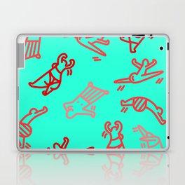 Dance In Your (Blue) Pants Laptop & iPad Skin