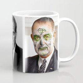Day of the Dead Presidents: Nixon Coffee Mug