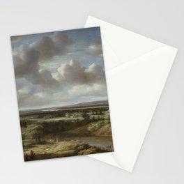 Philips Koninck - River Landscape Stationery Cards