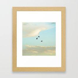 Fly to me Framed Art Print