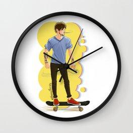 Rolling Wall Clock