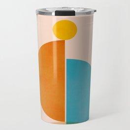Abstraction_SUN_Rising_Minimalism_001 Travel Mug