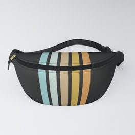 Retro Sunshine Stripes Fanny Pack