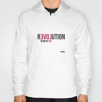 revolution Hoodies featuring Revolution by Estudio Minga | www.estudiominga.com